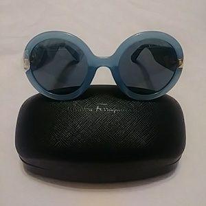 Salvatore Ferragamo 54mm Oversized Sunglasses